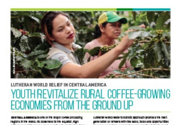 Youth Revitalize Rural Coffee-Growing Economies in Central America