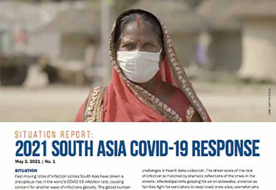 Situation Report: 2021 South Asia COVID-19 Response